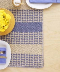 How to Crochet a Table Runner