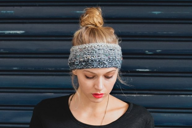 Knitting Headbands For Beginners : How to knit a headband free patterns guide