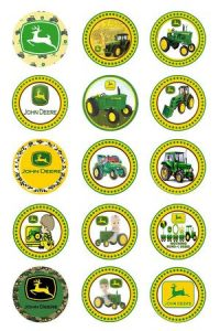 John Deere Bottle Cap Necklaces