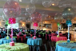 LED Balloon Centerpieces