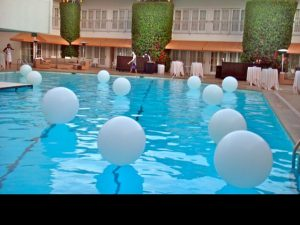 LED Balloons for Pool