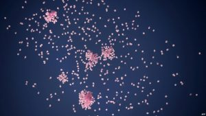 LED Balloons in the Sky