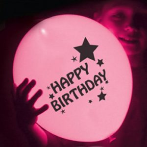 LED Birthday Balloon