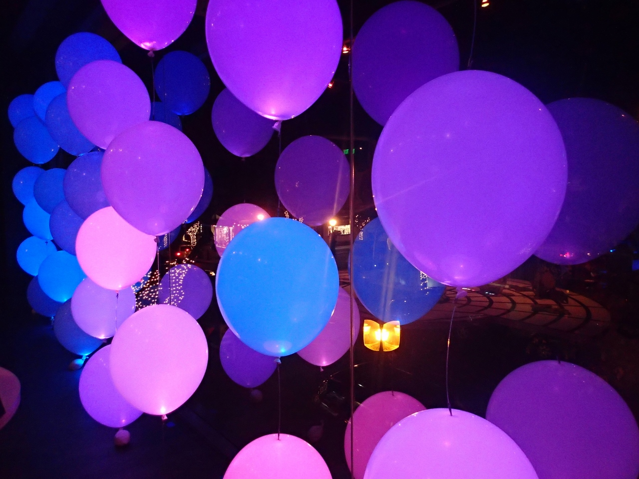 Balloon With Lights