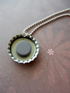 Magnetic Bottle Cap Necklaces: How to Make
