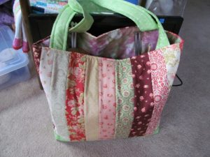Quilted Ruler Bag