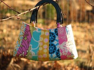 Quilted Fabric Handbag