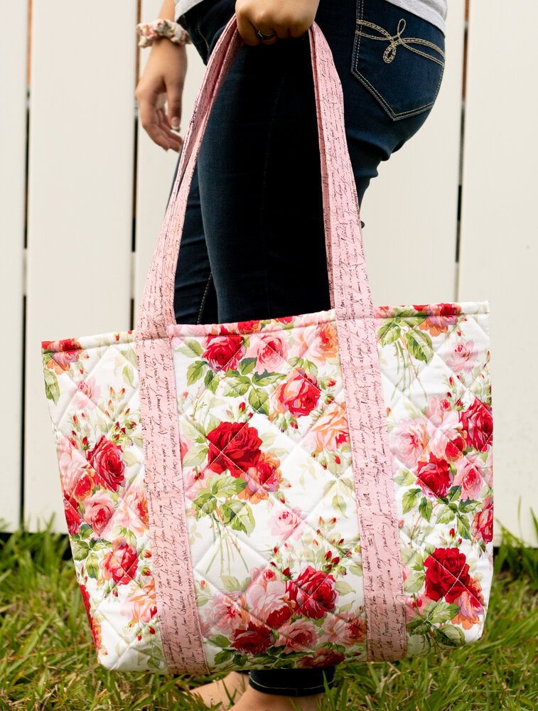 25 DIY Quilted Handbags | Guide Patterns : quilted bags and totes patterns - Adamdwight.com