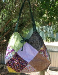 Quilted Hobo Handbag