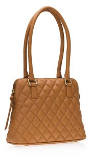 Quilted Handbag Made of Leather