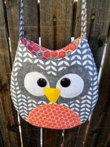 Quilted Owl Handbag