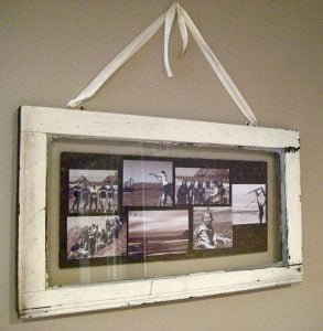 Single Pane Window Picture Frame