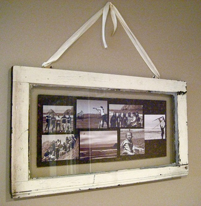 Diy Window Pane Picture Frame 19 Ideas Guide Patterns