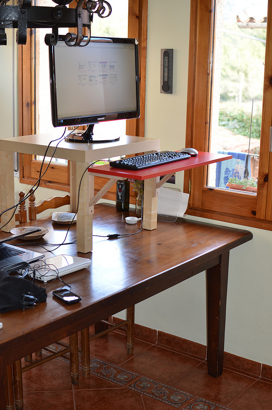 Adjustable Sit Stand Desk 9 Ways To Build Guide Patterns