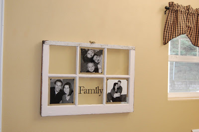 window pane collage picture frame - Windowpane Picture Frame