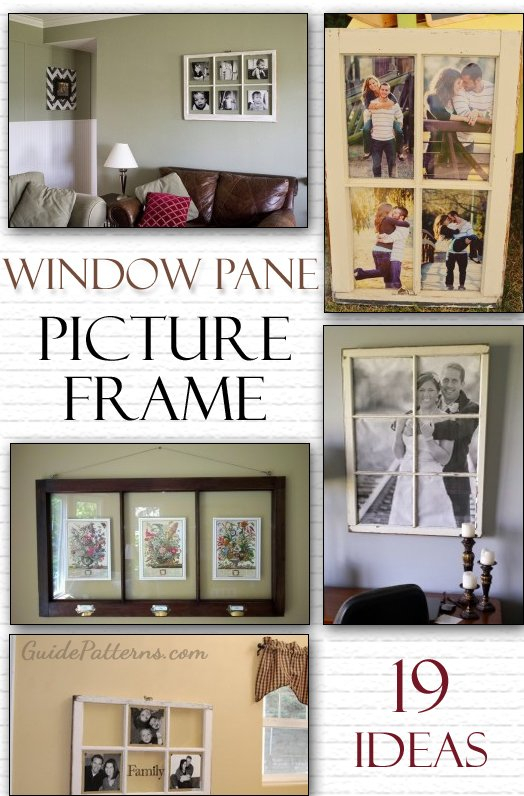 window pane picture frame - Windowpane Picture Frame