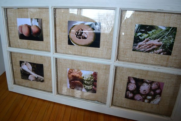 window picture frame idea - Window Picture Frame