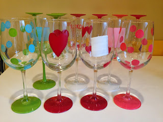 Hand Painted Wine Glasses51 DIY Ideas Guide Patterns