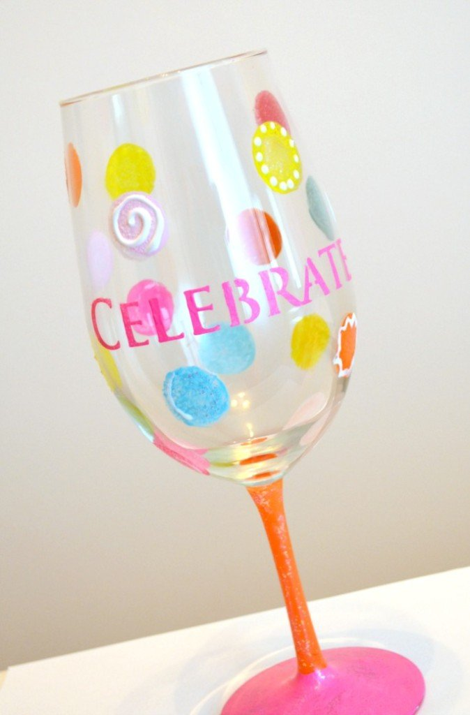 Painting A Picture Of A Wine Glass