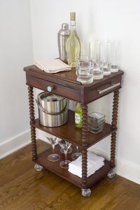 Antique Bar Cart