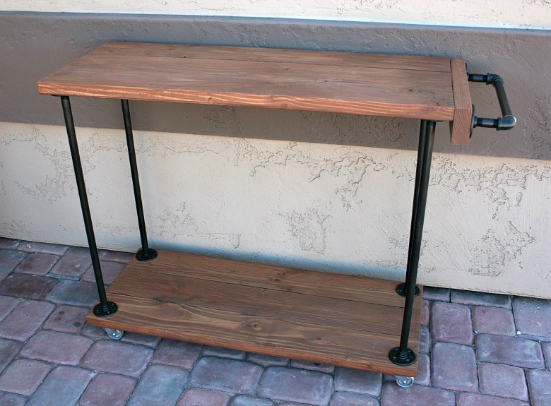 diy bar. Bar Cart Handle  How to Make in 26 DIY Ways Guide Patterns