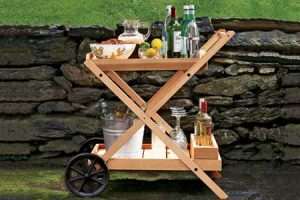 Bar Cart Wheels