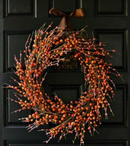 Berry Wreath Instructions