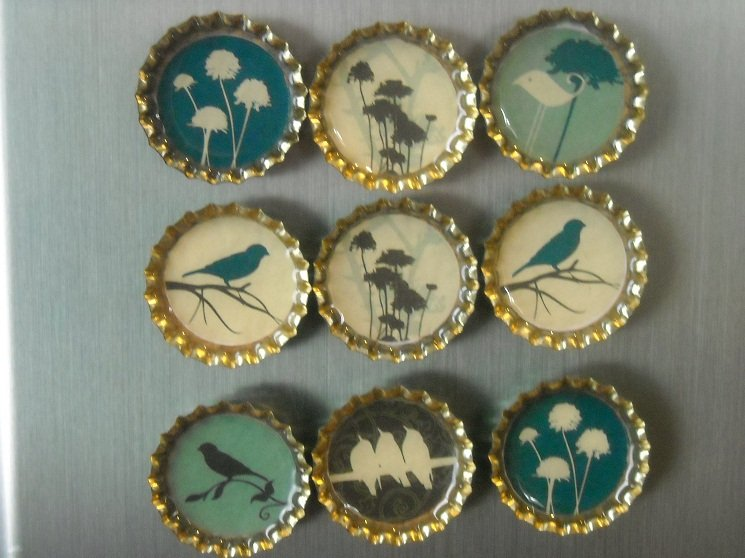 How To Make Bottle Cap Magnets 22 Creative Diys Guide Patterns