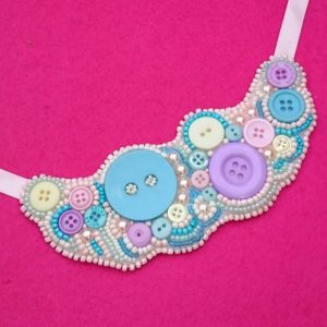 Button Bead Necklace