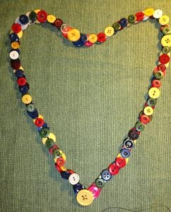 Button Necklace Instructions