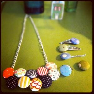 Button Necklace Pattern