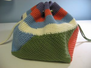 Crochet Backpack Purse