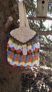 Crochet Backpack Purse Pattern