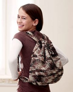 Crochet Camouflage Backpack Pattern