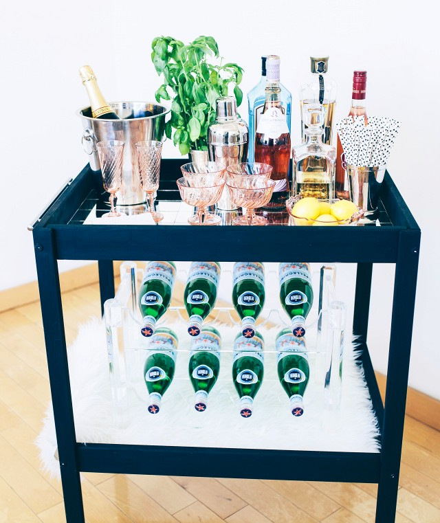 Bar Cart: How To Make In 26 DIY Ways