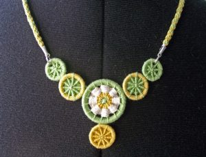 Dorset Button Necklace