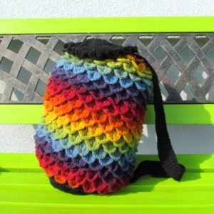 Free Crochet Backpack Pattern
