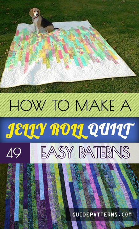 How to Make a Jelly Roll Quilt: 49 Easy Patterns | Guide Patterns : quilt patterns with jelly rolls - Adamdwight.com