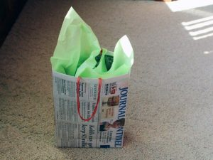 Handmade Newspaper Bag