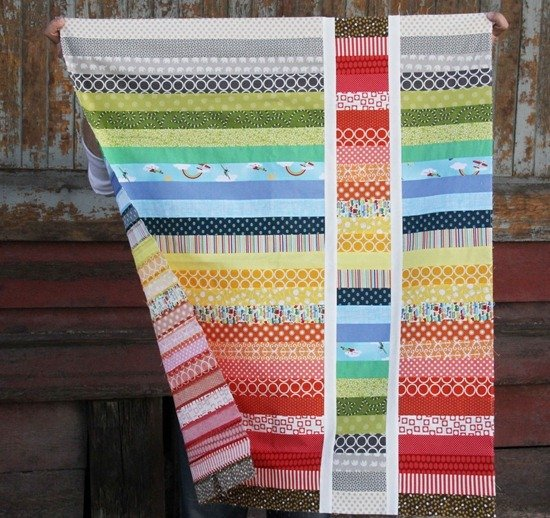 How to Make a Jelly Roll Quilt: 49 Easy Patterns | Guide Patterns : jelly roll baby quilt - Adamdwight.com
