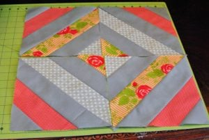 Jelly Roll Diamond Quilt