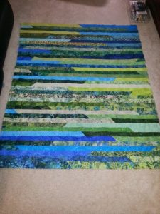 Jelly Roll Lap Quilt