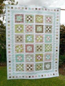 Jelly Roll Quilt Blocks