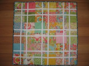 Jelly Roll Quilt DIY