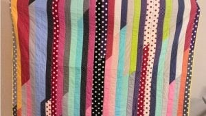 Jelly Roll Quilt Pattern for Beginners