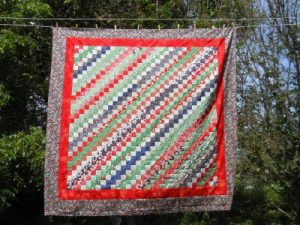 Jelly Roll Quilt Queen Size