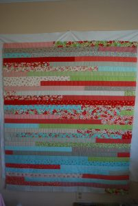 Jelly Roll Quilt Race