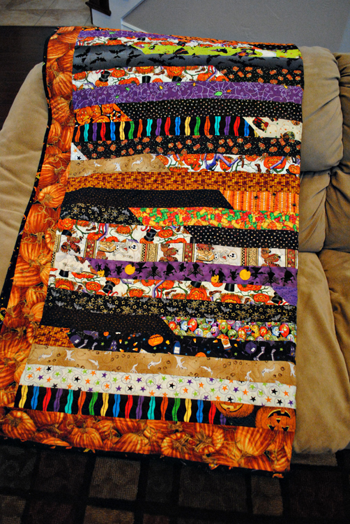 How to Make a Jelly Roll Quilt: 49 Easy Patterns | Guide Patterns : halloween quilt blocks - Adamdwight.com