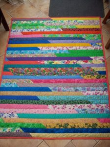 Jelly Roll Race Quilt Directions
