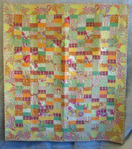 Jelly Roll and Charm Pack Quilt Pattern